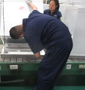 Chest freezer inspection service in China