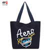 Contracted fashion canvas shopping bag