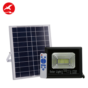 High brightness Dimmable integrated Outdoor Ip65 Waterproof 10 20 40 50 w solar Led Flood Light