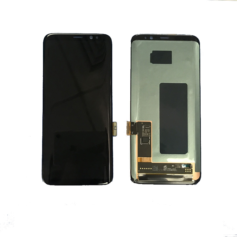 Mobile phone LCD Display Touch Panel for Samsung Galaxy S8 SM-G950 G950F G950A G950P G950V LCD Touch Screen Complete