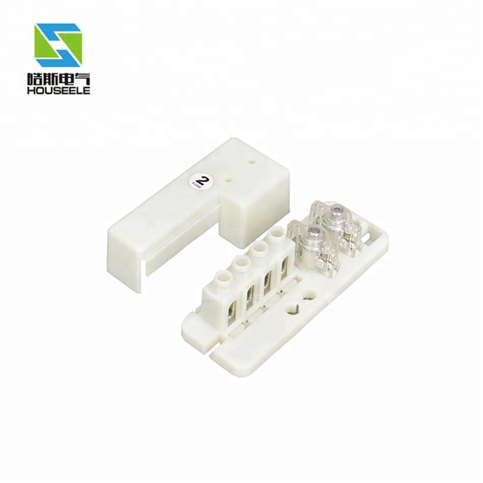 fuse holder type street lighting pole fuse box,plastic nylon fuse box mvl  435