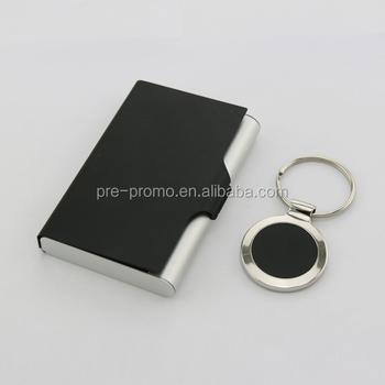 Custom metal aluminium business card holder with keychain inside custom metal aluminium business card holder with keychain inside colourmoves