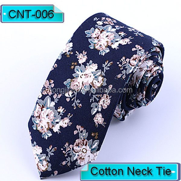 Cotton mens neckties blue floral print fashion neck <strong>ties</strong> soft business <strong>ties</strong> CNT006