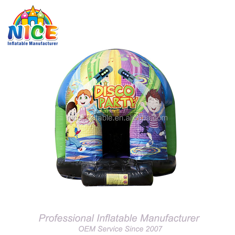 2018 Nice Inflatable Manufacture disco party Inflatable Bouncer For Kids