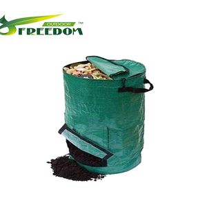 Heavy Duty Garden Leaf Bags Garden Compost Bin For Garden Waste