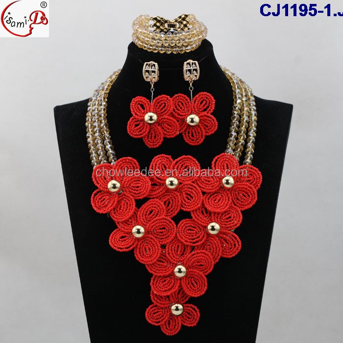 African Style Design Jewelry,Handmade Long Design Beads,Popular ...