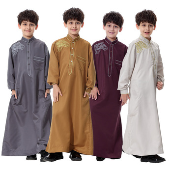 New Design Kids Abaya for Muslim Prayer High Quality Baju Kurung in Dubai
