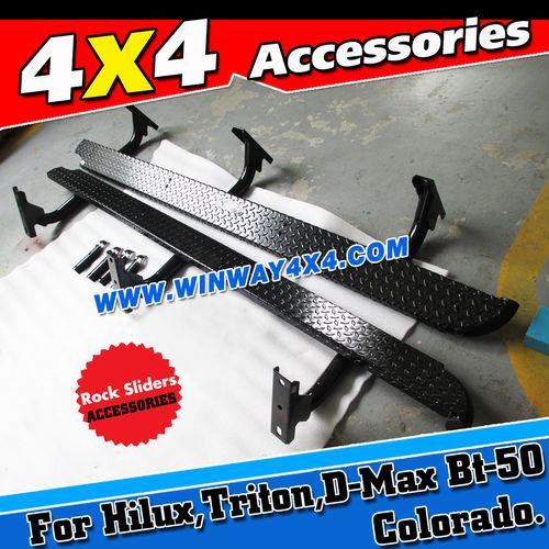 4x4 Accessories Off Road Rock Slider Side Step Bar For