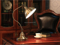 Decorative Lighting Vintage Classic Antique Metal Table Lamp Moving Head Lighting Table Lamp