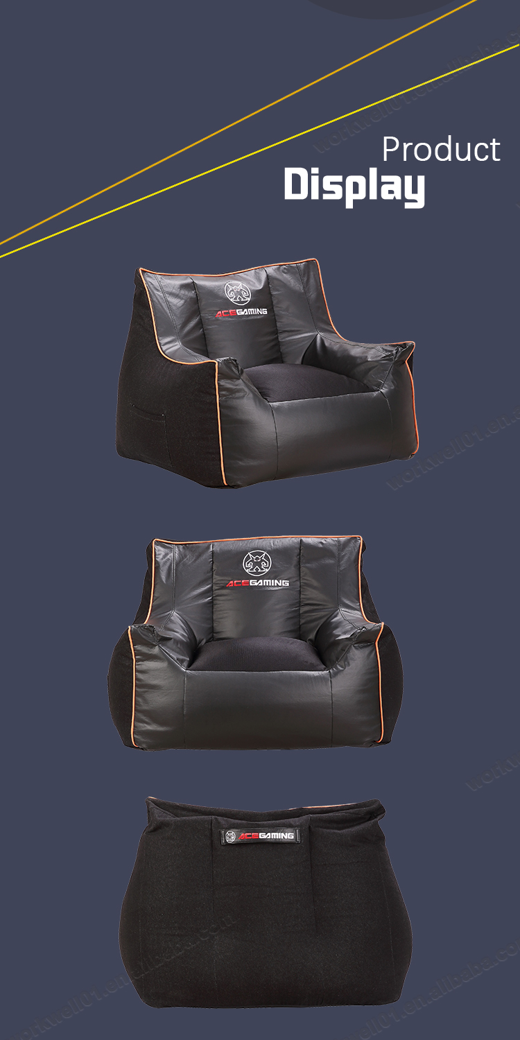 2019 Wholesale price leather black sofa chair furniture