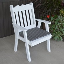 Best Price Wooden Custom Size Inexpensive Rocking Chair Garden With Cushion