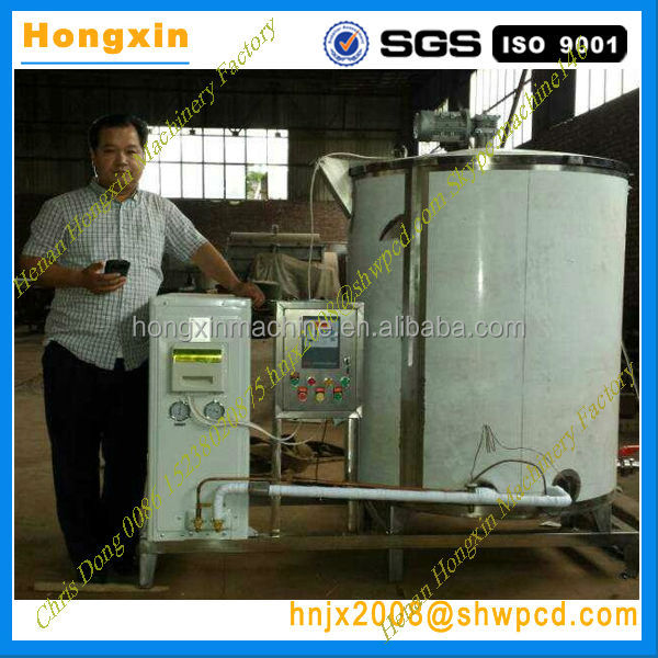 stainless steel vertical milk cooling tank for sale
