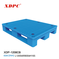 Lowest cost customer return three runners standard euro size plastic pallet
