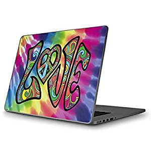 Tie Dye MacBook Pro 13 (2009 & 2010) Skin - Tie Dye Peace & Love Vinyl Decal Skin For Your MacBook Pro 13 (2009 & 2010)