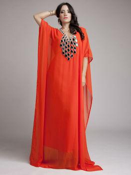 Arabe dubaï abaya caftan style de bal robe caftan Marocain robe de luxe kaftan  robes pour