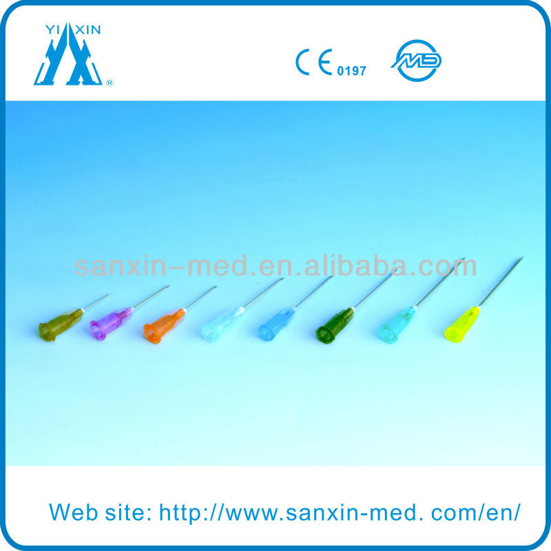 types of hypodermic needle