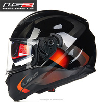 Unique LS2 ff328 Full Face Motorcycle Helmet man women Racing moto Helmets with dual lens DOT Approved motorbike Helmets