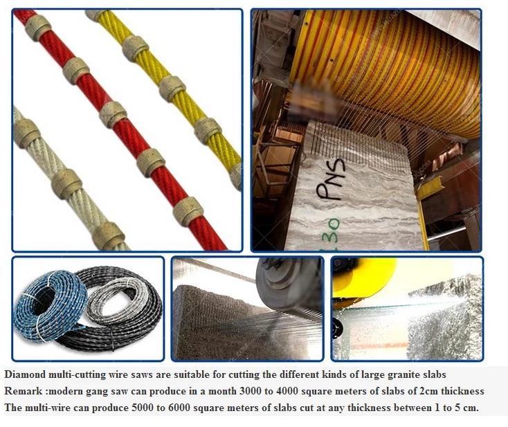 JDK Good Quality Diamond wire saw for granite profiling