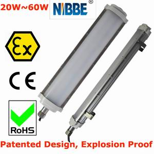 explosion proof LED Tubular Light Fitting