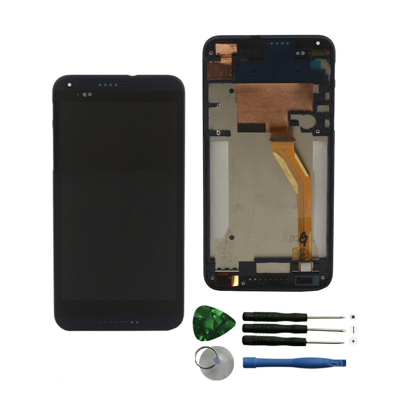 wholesale repair parts cell phone touch screen for HTC Desire 816 display with frame