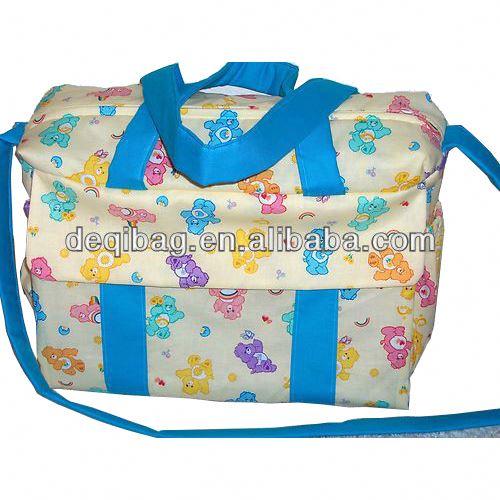 3f23b8592f3237 Care Bear handmade Diaper Bag hot sale Mummy Nappy Shoulder Tote Bag Hot  Sale