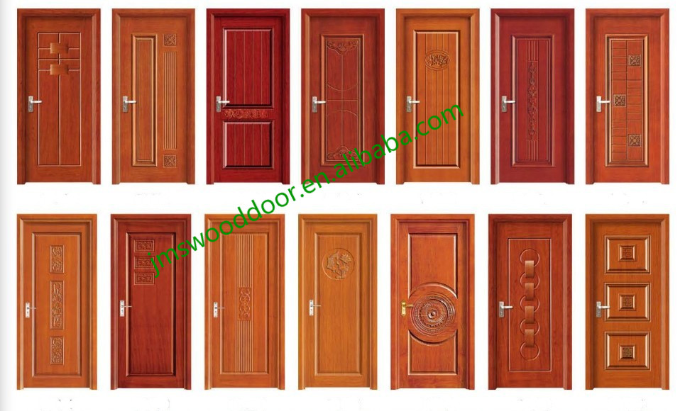 China 100 nature wood panel door modern wood door design for Single wooden door designs 2016