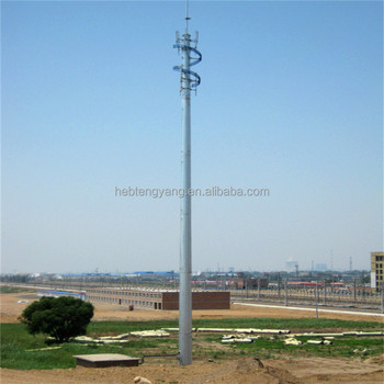 Galvanized Steel 40m Monopole Antenna Tower For Gsm Communication - Buy  Monopole Antenna Towe,Galvanized Steel Tower,40m Tower Product on  Alibaba com