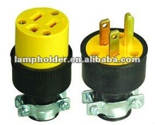 3P/3S South American Electrical Plug and socket
