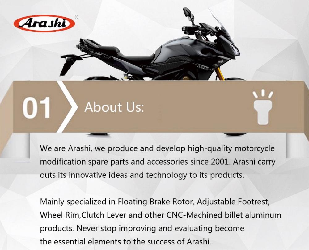 2020 Arashi Adjustable Footrests For Aprilia Rsv4 Factory