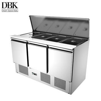 China made 220v commercial freezer counter top cooler exquisite refrigerators