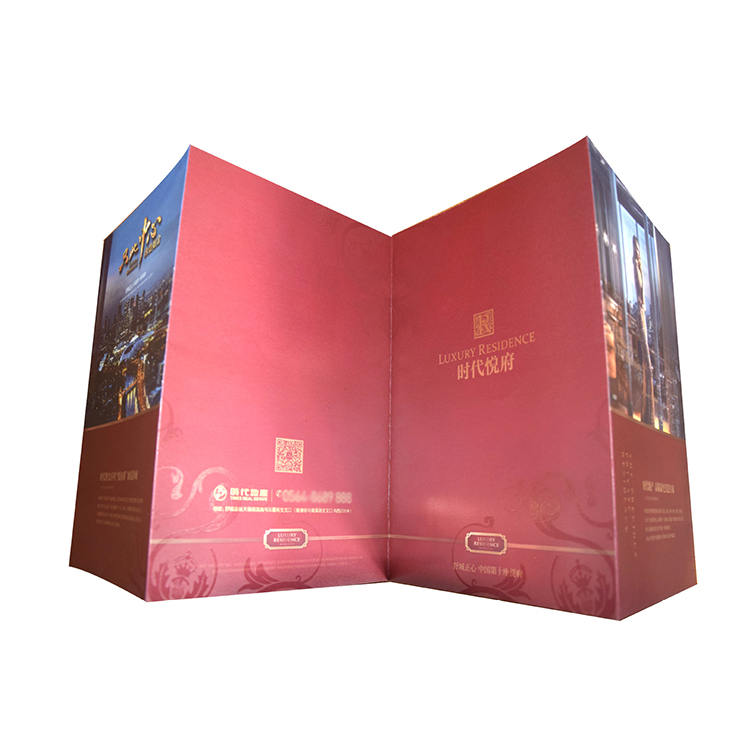 Top Quality Custom Cheap <strong>Printing</strong> A2 A3 A4 A5 Fold Leaflet/Magazine/Catalogue/Flyer <strong>Printing</strong>