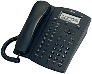 AT&T 955 Corded Expandable 4-Line Intercom Speakerphone with Caller ID (Graphite)