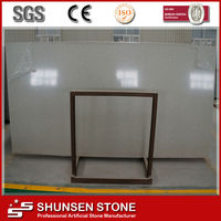 China Composite Synthetic Resin Indian Price Artifical Quartz Stone Wall Cladding/Countertop/Tiles