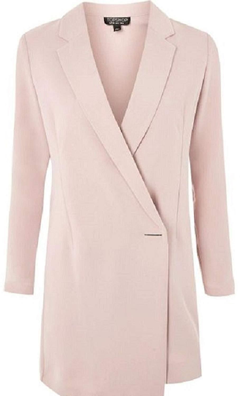c1cdb9c9c72e IKRUSH Womens Blake Gold Button Blazer Dress. 23.99. null. Get Quotations ·  Anastasia Womens Spring Long Line Jacket Blazer Dress