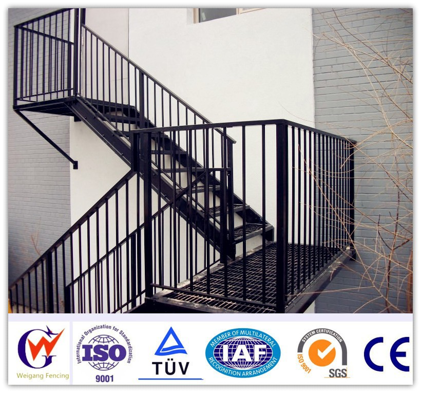 2016 le plus chaud int rieur et ext rieur en aluminium for Balustrade aluminium exterieur
