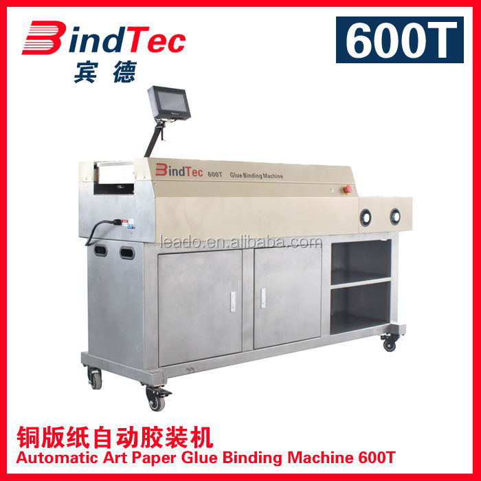 600t China Hangzhou Factory Offer Automatic Perfect Binder Hot ...
