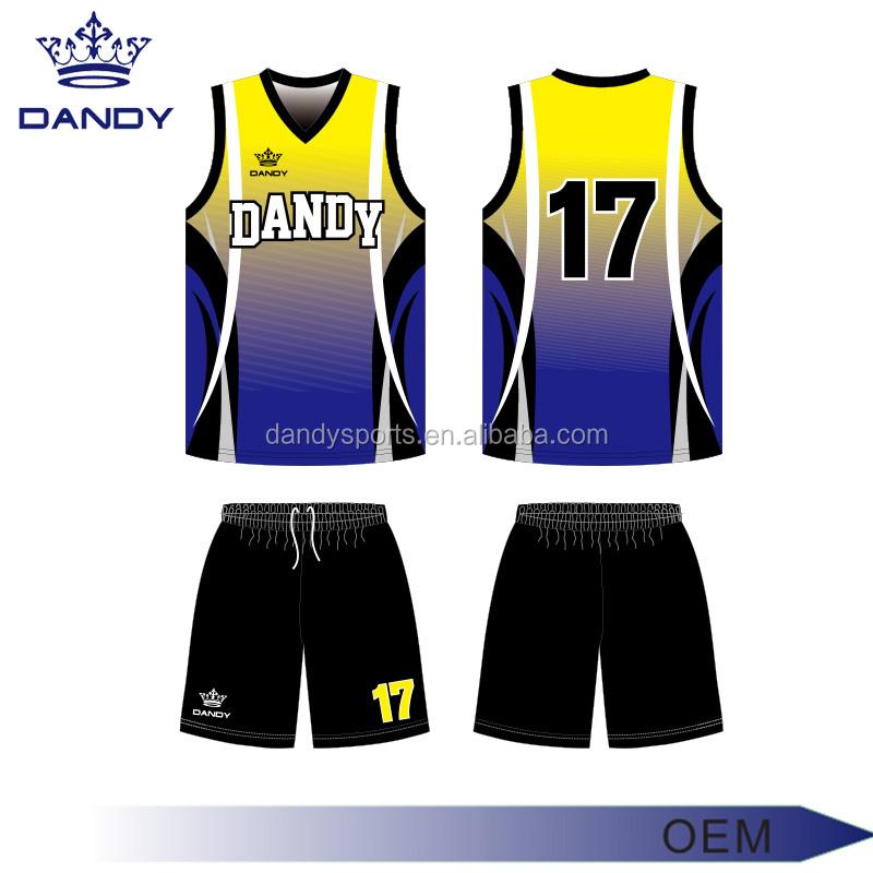 54bb56cf170 Sublimation custom cheap kids wholesale reversible basketball uniforms