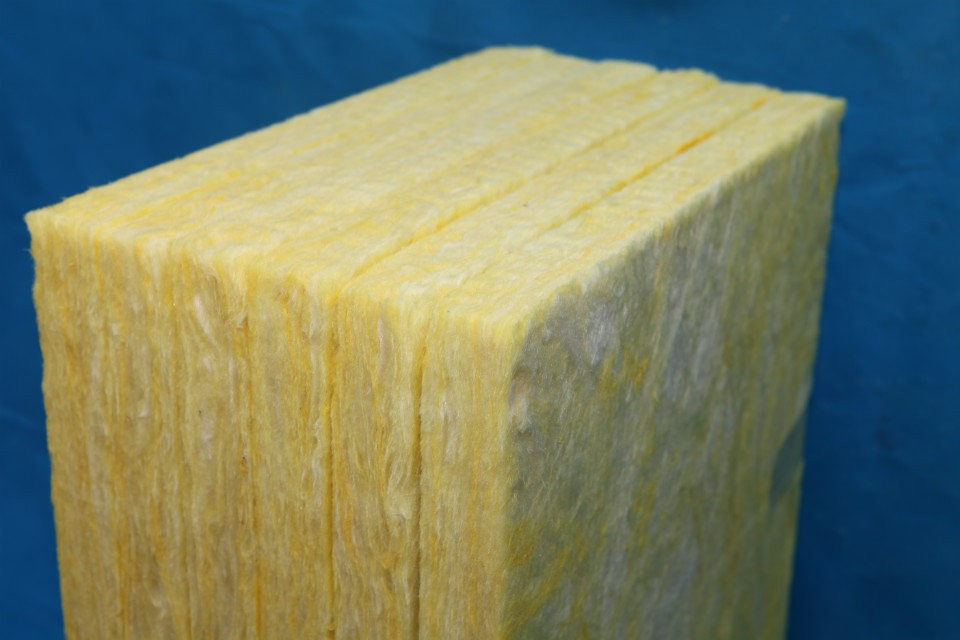 Heat Insulation 16kg m3 glasswool blanket