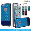 Alibaba Express Soft TPU Printed Bling Star Back Cover For iPhone 6 Cell Phone Case