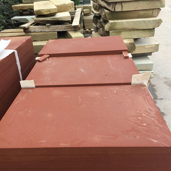 Sichuan Red Sandstone Tile Natural Stone Wall Tile