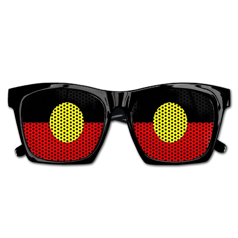 43b908beec27 Get Quotations · Aboriginal Flagof Australia Party Sunglasses Mesh Lens  Glasses Costume Sunglasses Eyewear For Groom Party Wedding Props