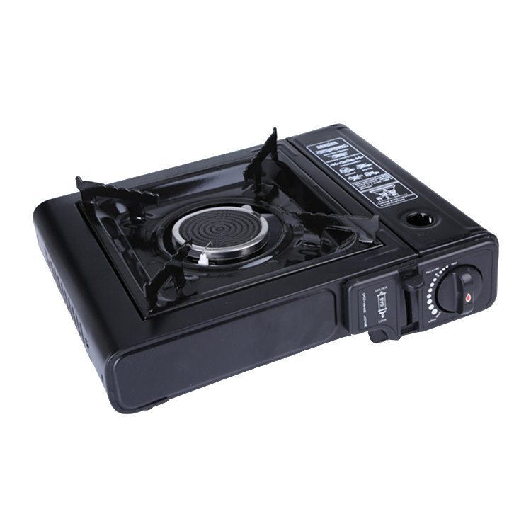China Mainland Stainless steel Single Burner Portable <strong>Gas</strong> Stove With Case Tabletop Biogas Infrared Cooker