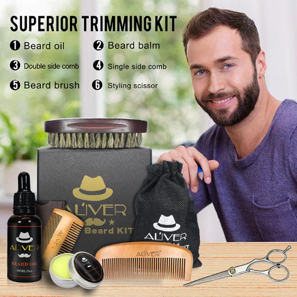 Amazon hot sale organic beard oil private label beard oil kit