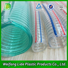 Clear and Transparent PVC Steel Wire Hose used as building materials or drainage pipe