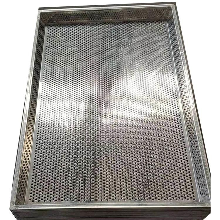 Welding Perforated Sheet Stainless Steel Perforated Baking