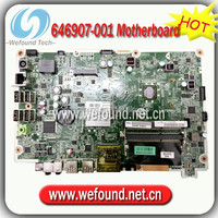 Hot sale 100% working motherboard for HP Omni 120-1210cx 120-1220 120-1221 646907-001 DAOWJ7MB6E0