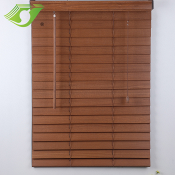 Stardeco aluminum head railnatural wooden blinds venetian