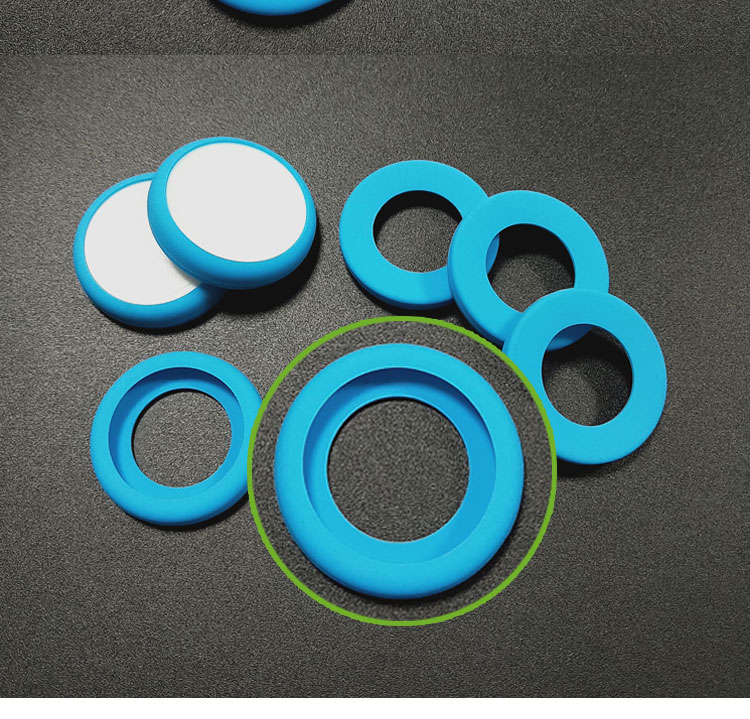 Two color silicone sleeve and cover for medical stethoscope