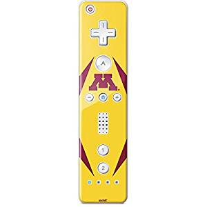 University of Minnesota Wii Remote Controller Skin - Minnesota Golden Gophers Vinyl Decal Skin For Your Wii Remote Controller