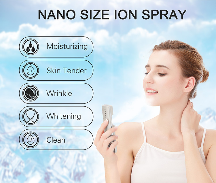 USB Powered Professionele Spa Nano Mist Fog Machine Automatische Waterstof Water Spray